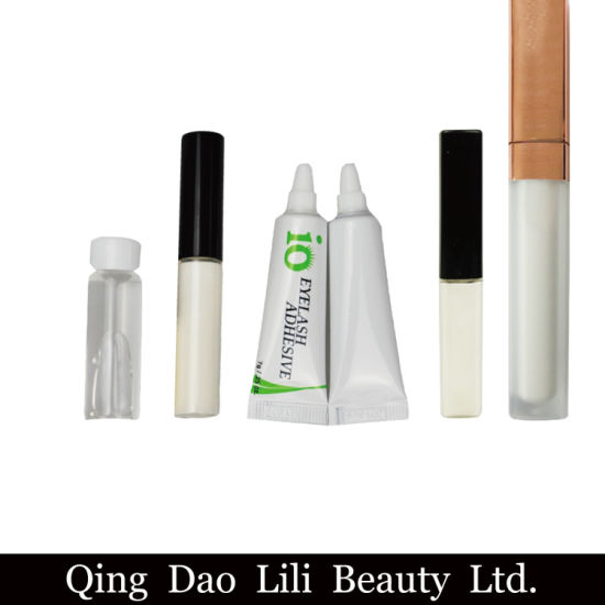 d6112f1219e Top Quality Gentle Glue for Individual Eyelash Strip Eyelash Black White  Transparent White Latex Adhesive Eyelashes