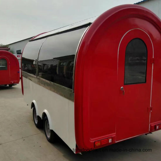 Mobile Outdoor Food Cart Trailer Coffee For Sale