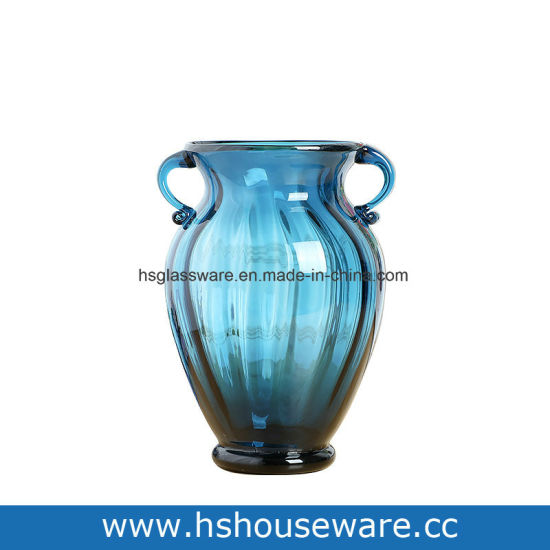 China Hot Sell High Quality Pigmented Colored Glass Vase China