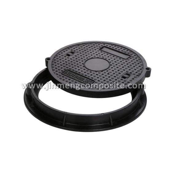 China Heavy Duty Manhole Cover with Frame D400 Rating/ SGS - China ...