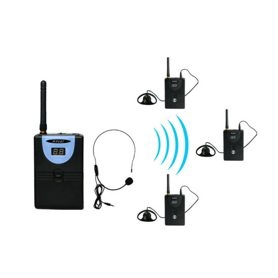 Wireless Tour Guide System (1 transmitter and 3 receivers)