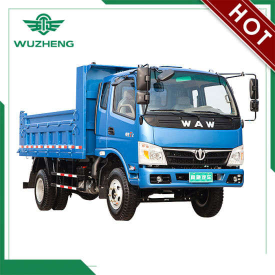Waw 4*2 6 Ton Tipper Truck for Sale pictures & photos