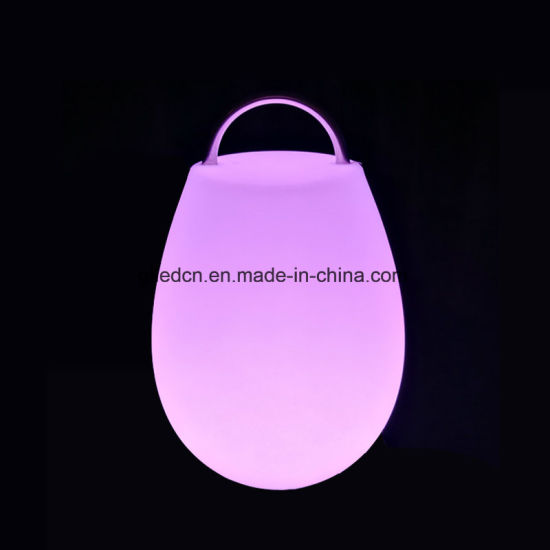 Cafe Furniture Wholesale Plastic LED Table Lamp for Sale