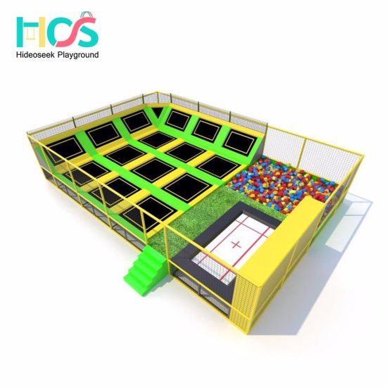 2018 Professional and Commerical Children Indoor Customized Trampoline Park (HS171219-150A) pictures & photos