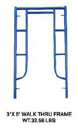 3′*5′ S-Style Walk Thru Frame Scaffolding for Sale pictures & photos