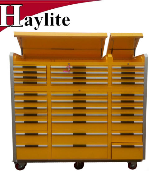 High Quality Steel Rolling Tool Cabinet with 33 Drawers pictures & photos