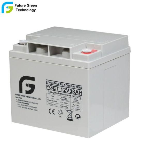 12V38ah Lead Acid AGM Solar Battery for Inverter UPS