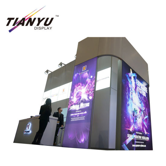 Fabric Exhibition Stand Lighting : China fabric tension trade show display exhibition booth fabric