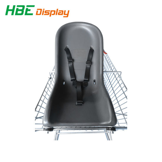 Plastic Foam Baby Seat For Shopping Trolley Carts