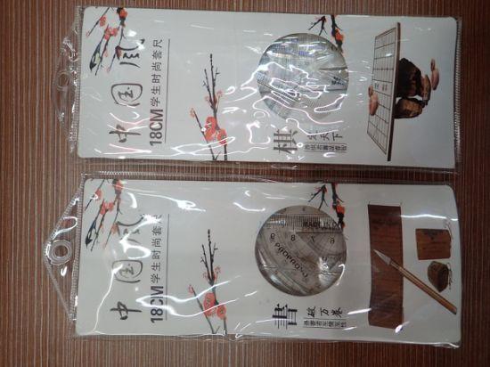 Ruler Set 4 Pieces School Stationery Ruler Set Student Ruler Set