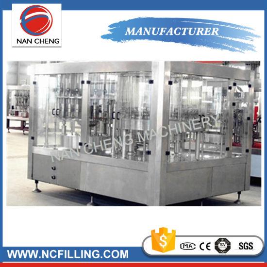 Glass Bottle and Pet Bottle Carbonated Beverage Production Line Filling Line
