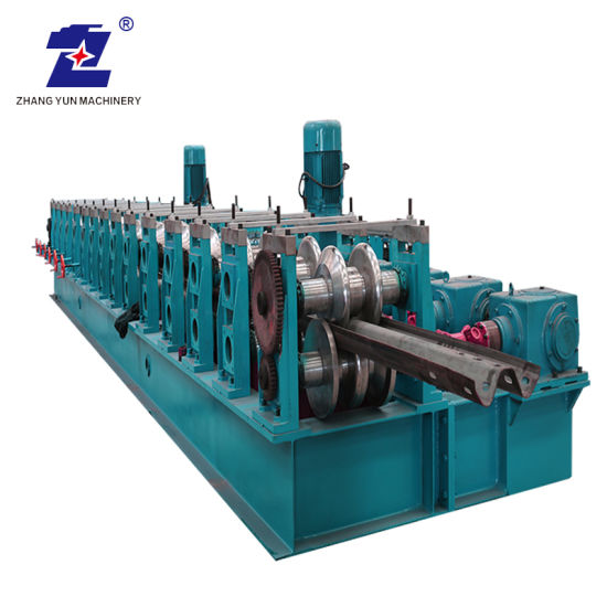 Wholesale Price Automatic Steel Profile Production Line Road Building Making Machine Highway Guardrail Roll Forming Machine