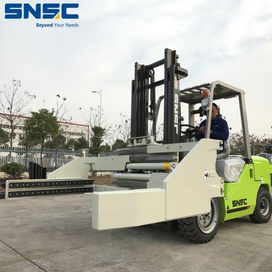 Snsc 4t Block Clamp Forklift to Algeria