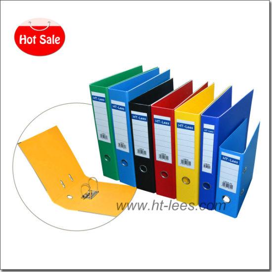 Hot Sale Lever Arch Clip File PVC Box File Folder 2 Ring Binder