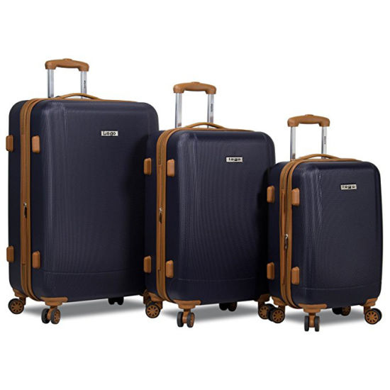 20 24 28inch ABS Carry-on Travel Trolley Luggage Set pictures & photos