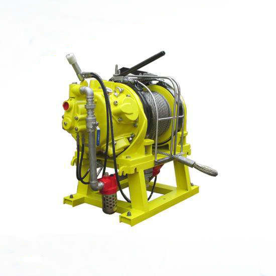 Piston Air Winch 3ton Air Winch with Manual Operation for Ship Working