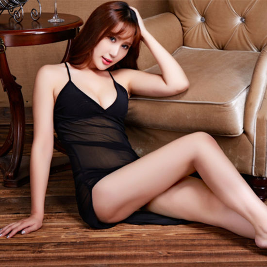 Hot-Selling Fioyia011 Sling Mesh Transparent Temptation Short Skirt Sexy Lingerie