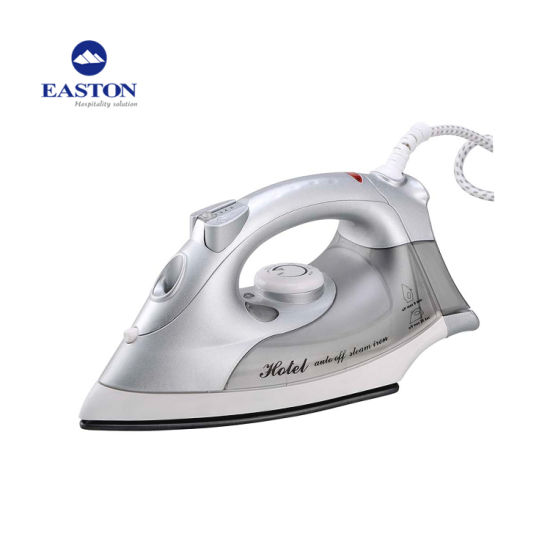 Guest Room 2m Power Cord Non-Stick Silver Steam Iron pictures & photos