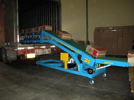 Truck Conveyor Loading Machine, Goods Belt Conveyor, PVC Belt Conveyor