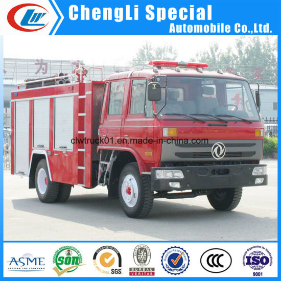 Fire Rescue Dongfeng 4X2 8cbm Water Tanker Fire Fighting Truck pictures & photos
