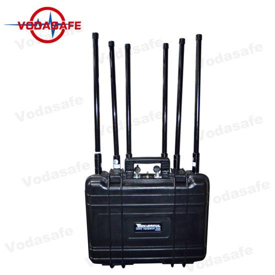China GSM/CDMA/Dcs/4glte Six Antennas Signal Blockers for