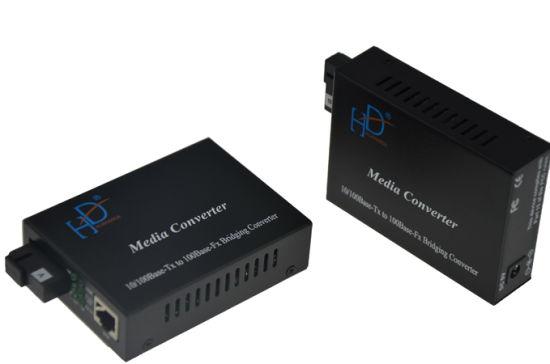 10/100m Ethernet Media Converter Single Fiber Single Mode