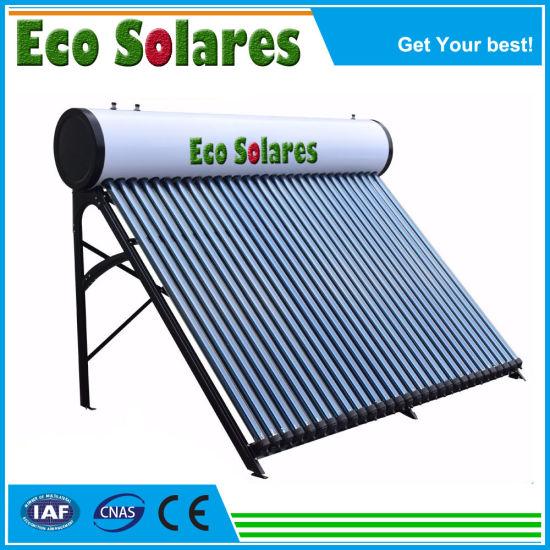 Color Steel Vacuum Tube Low Pressure Solar Water Heater