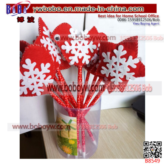 wholesale gel pen christmas gift christmas ornament holiday decoration b8549 - Office Supply Christmas Decorations