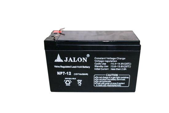 Solar Lead Acid Battery Durable Rechargeble 12V 7ah