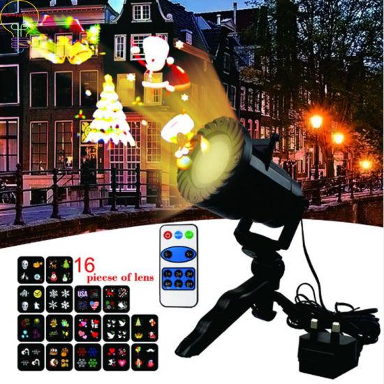 Christmas Holiday Celebration Lights-12 Pattern Waterproof Outdoor Star