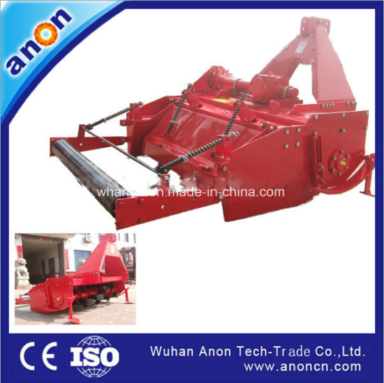 Anon Cheap Price Tractor Mounted Rotary Tiller Bed Shaper with Ridging Machine