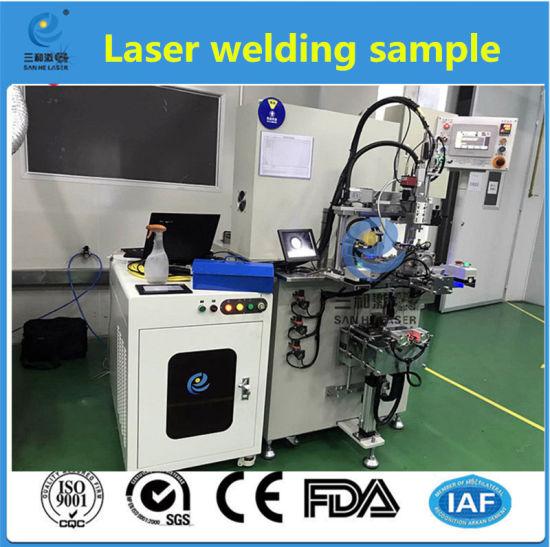 500W Fiber Automatic Laser Welder for Copper Aluminium Phone Radiator Fins