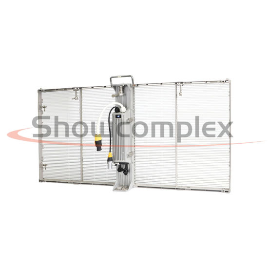 Weather Proof P3.9 Outdoor Transparent LED Display Screen with Lightweight Design