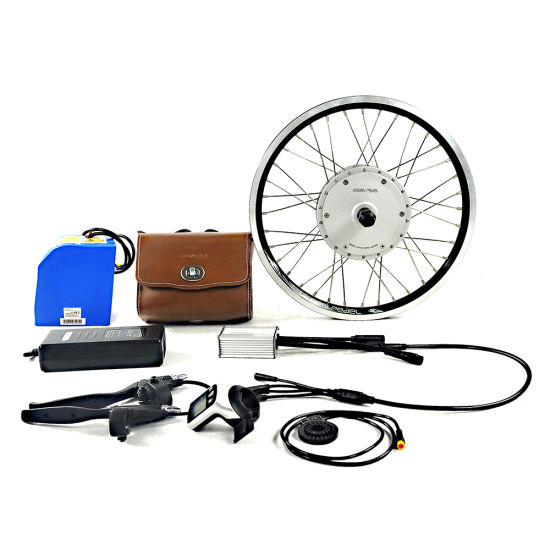 Greenpedel 200W Electric Bicycle Parts for Brompton Bike pictures & photos