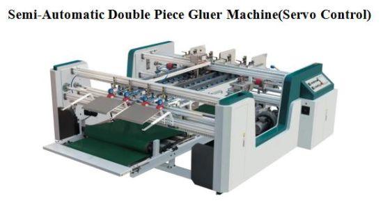 High Speed Semi-Automatic AB Gluer Machine (double servo&pieces) -MH-2300L/2600L/3000L