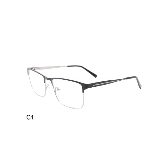 Fashion Ce FDA Stainless Steel Men Optical Frame with Four Colors