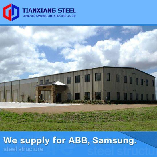 Heat Insulation Metal Fabricated Buildings