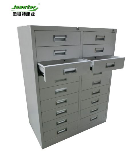 Used Hospital Furniture Steel Antique Chinese Medicine Cabinet
