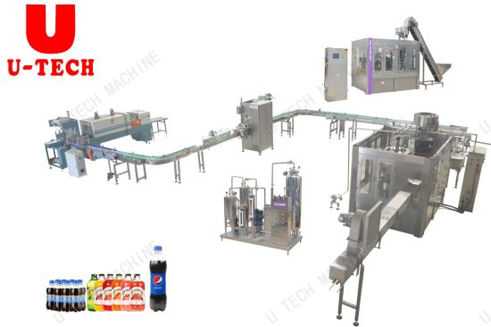Glass Bottle Filling Machine Price Soft Drink Making Machines with Factory Wholesale