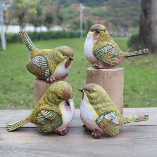China Garden Decor Home Art Outdoor Artificial Bird
