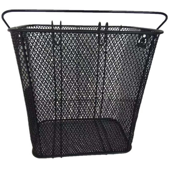 Popular Front Bicycle Basket with Handle and Hook
