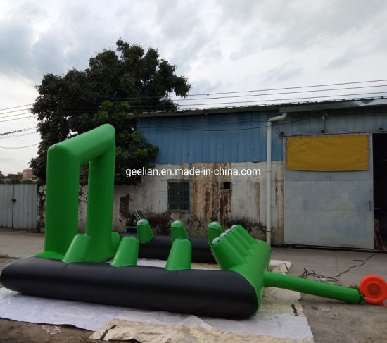 Commercial Inflatable Interactive Play Systems Juming Bounce IPS Game for Sale