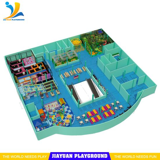 Generation3.0 Playground Equipment, Highly Appreciated Commercialplan Trampoline Park for Sale
