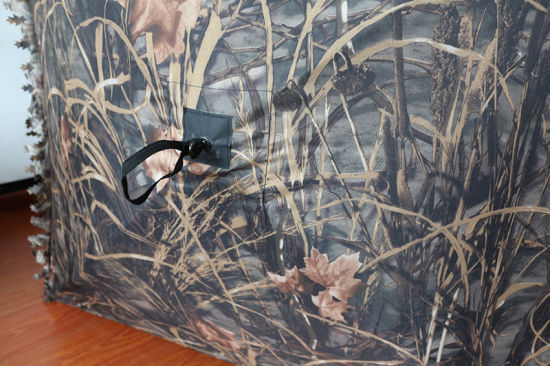 China 3d Leaf Foldable Waterproof 3 Face Direction Camouflage Fence Hunting Ground Blind China Stealth And Sniper Price