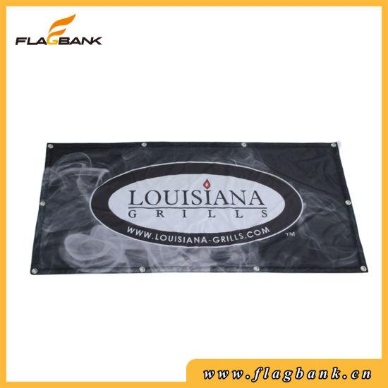 Custom Advertising Full Color Digital Printing Polyester Fabric Flag Banner