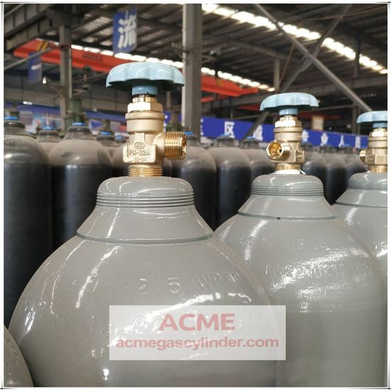 Chemical Equipment & Machinery Use Gas Container Seamless Steel Gas Cylinder