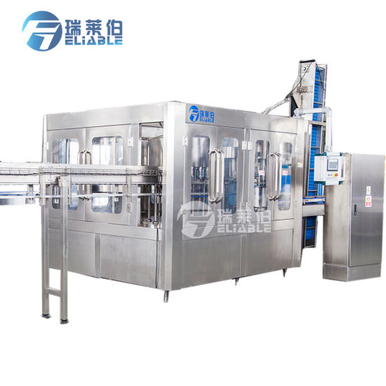 Complete Mineral Water Production Line / Bottle Water Filling Machine