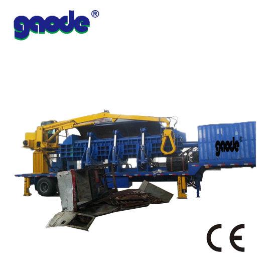 Factory Supply Car Baler Machine Scrap Baler Baling Press Hot Sale