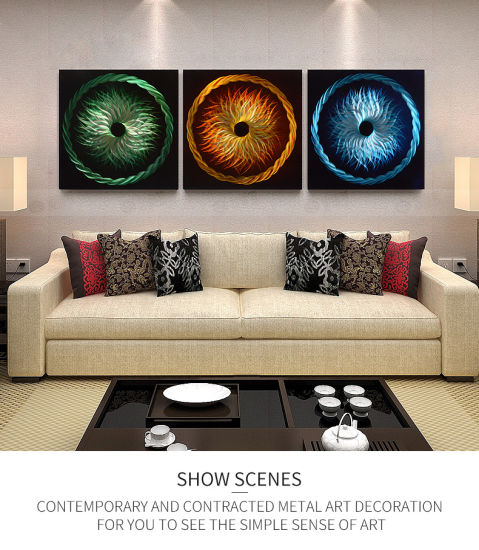 Modern Abstract Metal Panel Wall Art Home Decor Home Contemporary Metallict Wall Sculpture 24 X 74 China Landscape Painting And Abstract Modern Price Made In China Com