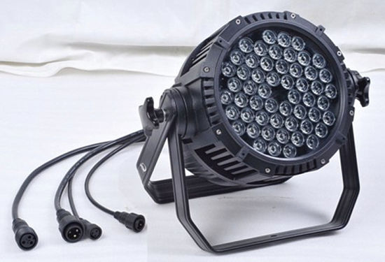 Waterproof 54*3W RGBW LED PAR Can Wedding Stage Light